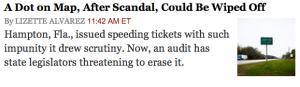 NY Times headline