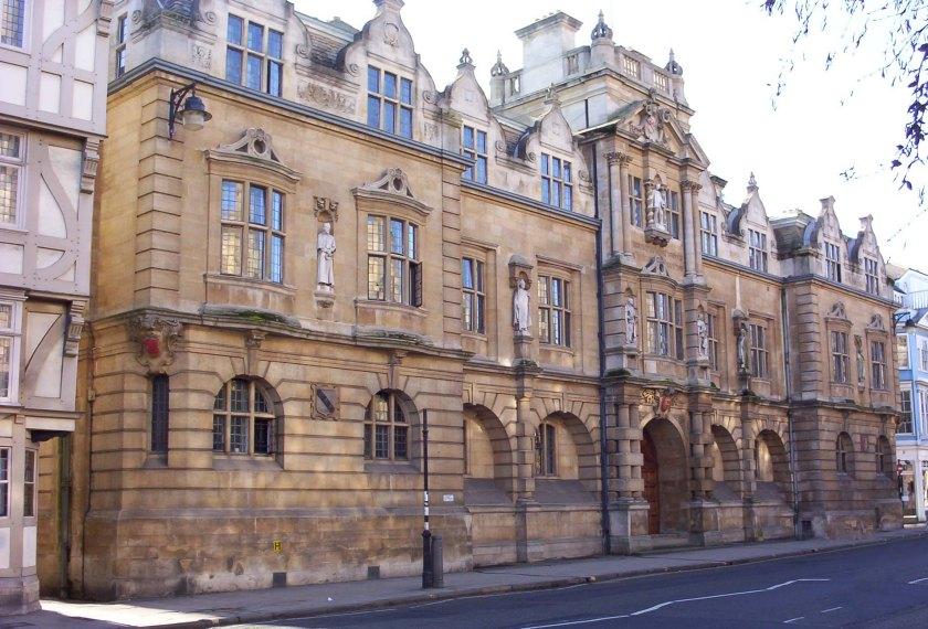 Oriel College, Rhodes Building